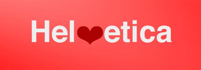Helvetica_rojo